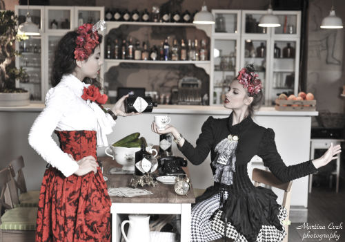 A most unusual Hendrick's Gin girls