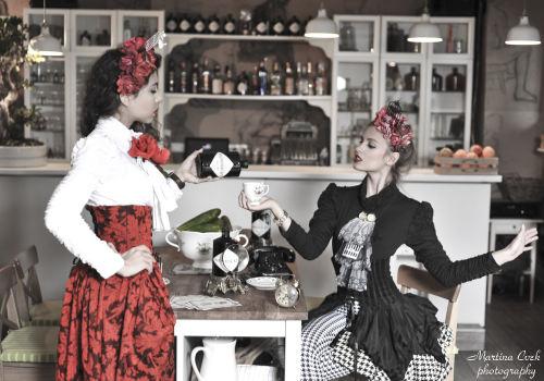 A most unusual Hendrick's Gin girls
